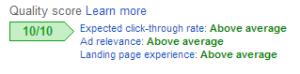 Key Word Stuffed Ads