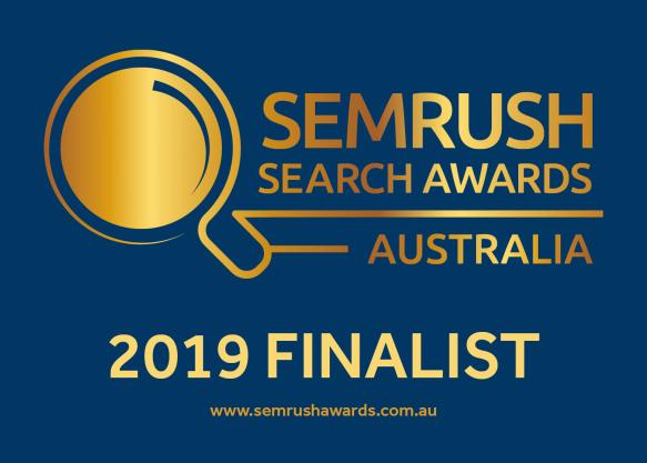 SEMrush Awards 2019 Finalist Badge Blue e1571275747448 - SEMRush AU Search Awards 2019 here we come